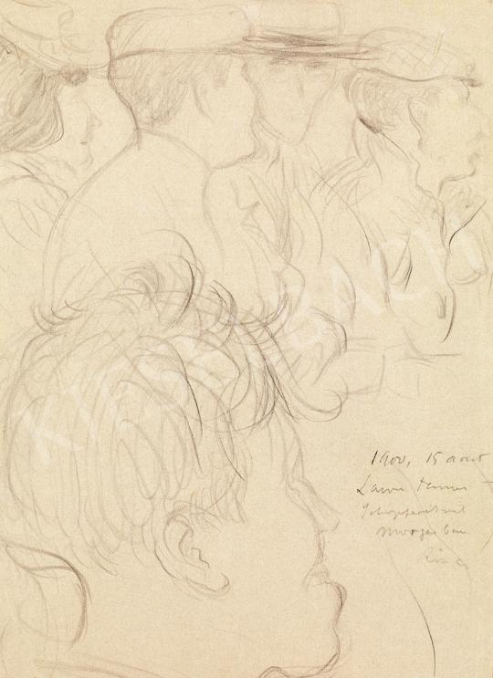 Eladó Rippl-Rónai József - Figurák festménye