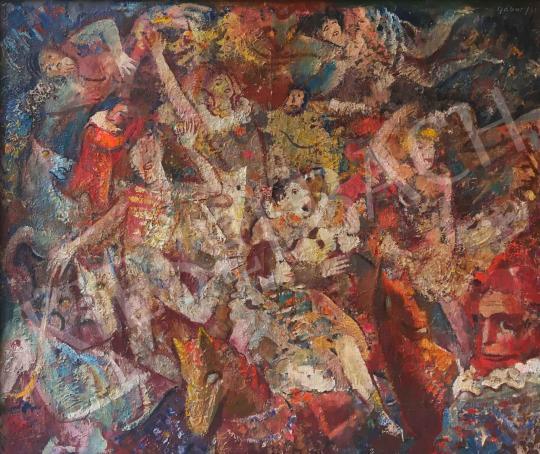 Eladó  Gábor Jenő - Artisták festménye