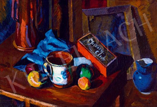 For sale  Tipary, Dezső - Studio Still-Life, 1919 's painting