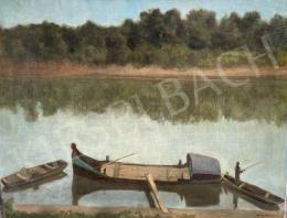 Förstner Tivadar - Halászok a Tiszán
