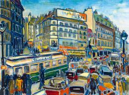 Sreier András - Párizs (Grand Boulevard), 1929