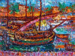 Vén, Emil - Sailing Boats in Chroatian (Spolento)