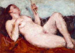 Vass, Elemér - Female Nude in Studio, 1931