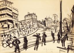 Scheiber Hugó - Nagyvárosi forgalom, 1920-as évek