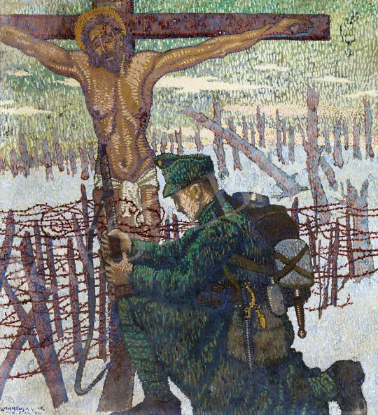 Eladó  Lakatos Artúr - Ecce Homo, 1917 festménye