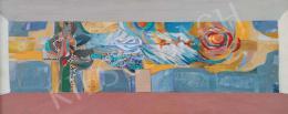 Tamás Ervin - Miskolci mozaik ötlete, 1974