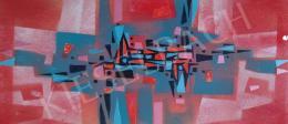 Tamás Ervin - Geometrikus fali képterv