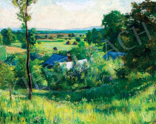 Eladó Kollerich István - Nagybányai táj (Hommage á Pisarro), 1910 körül festménye