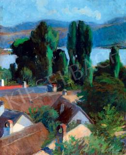 Kosztolányi Kann Gyula - Kilátás a Dunakanyarra (Dömös), 1900 körül