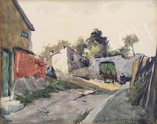 Eladó  Kássa Gábor - Kecske utca, 1942 festménye