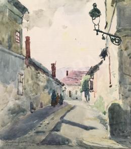 Kássa Gábor - Kisköz a Lugas utcából (Jós utcaköz), 1948