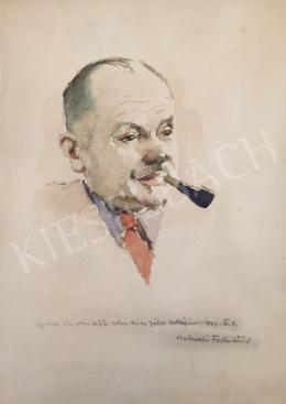 Kássa Gábor - Csallóközi Farkas Lőrinc festő portréja, 1947