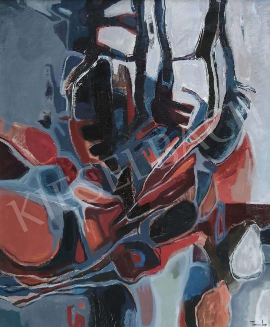 Eladó Tamás Ervin - Vörös izzás festménye