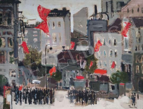 Eladó Tamás Ervin - Ünneplő város, 1964 festménye