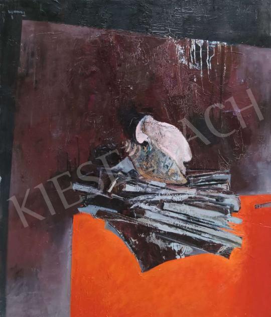 Eladó Tamás Ervin - A tenger csendje (Kagyló), 1977 festménye