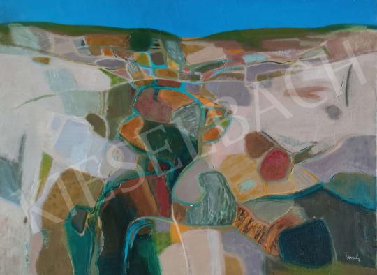 Eladó Tamás Ervin - Őszi táj, 1970 festménye