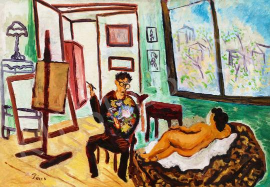 Eladó  Bálint Rezső - Párizsi műterem, 1920 körül festménye