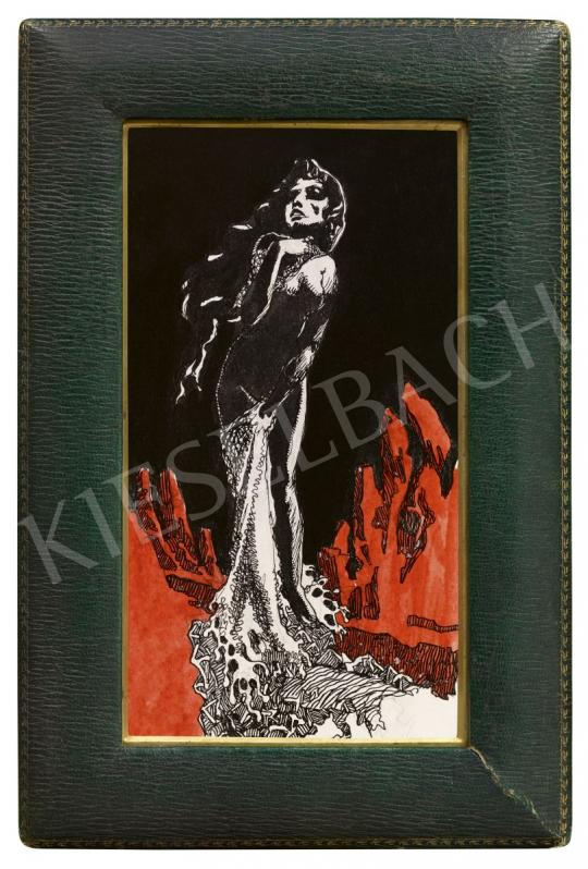 For sale Tichy, Gyula - Temptation (Red and Black), 1910s 's painting