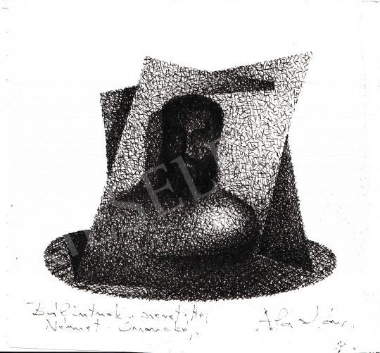 Eladó  Németh Aladár - Önarckép festménye