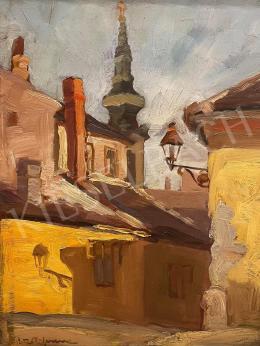 Unknown painter - Tabán (Virág Benedek Street)