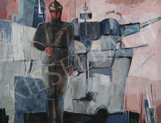 Eladó Tamás Ervin - Leningrád (Hajnalfény) festménye