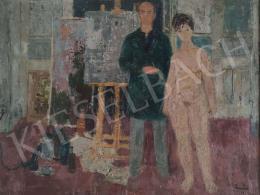 Tamás Ervin - Festő és modell
