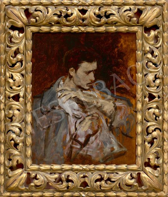 Eladó  Munkácsy Mihály - Vázlat a Tépéscsinálókhoz, 1871 festménye