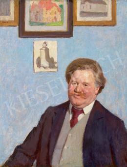 Fényes Adolf - Építész portréja (Jakab Dezső), 1907