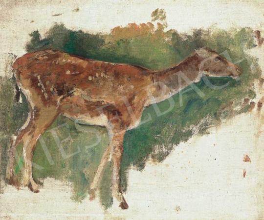 Eladó  Ferenczy Károly - Őzike, 1893 festménye