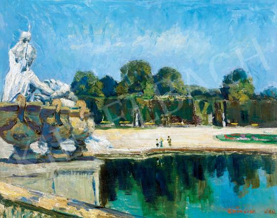 For sale  Iványi Grünwald, Béla - Castle Grounds in Vienna (Schönbrunn), c. 1905 's painting