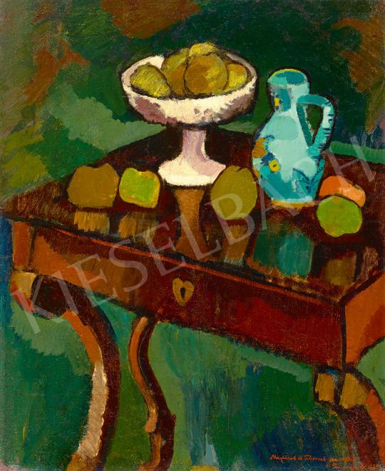 Eladó  Fenyő György - Műtermi csendélet, 1923 festménye
