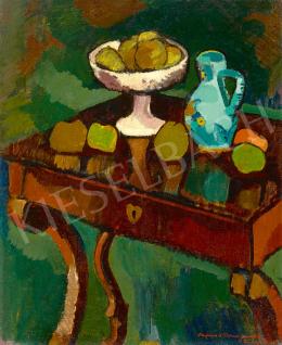 Fenyő György - Műtermi csendélet, 1923