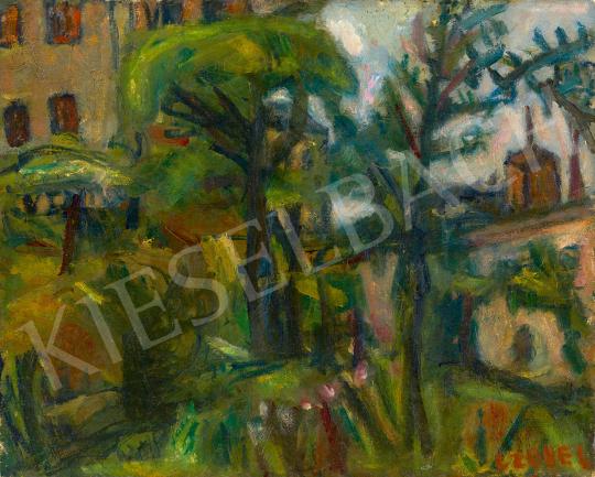 Eladó  Czóbel Béla - Párizsi park, 1930 körül festménye