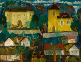 Pekáry István - Falu Balatonfelvidéken, 1935