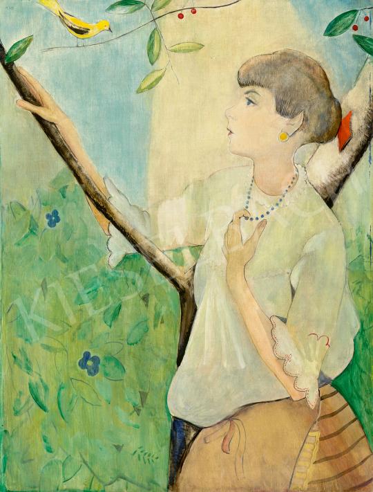 Eladó  Félegyházi László - Madárdal, 1930 festménye