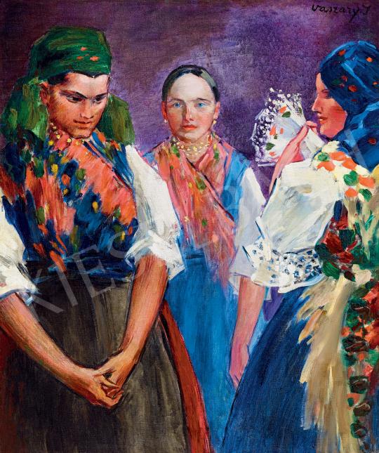For sale  Vaszary, János - Sunday Morning, c.1930 's painting