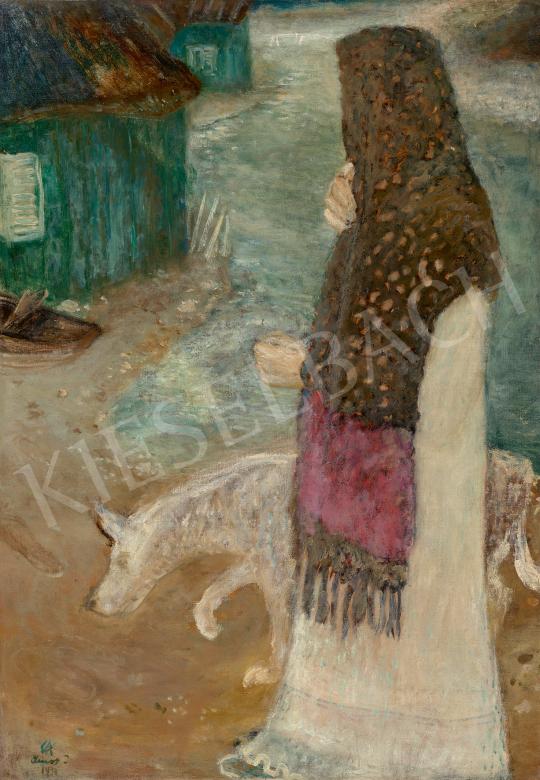 Eladó  Ámos Imre - Az élet vize, 1934 festménye