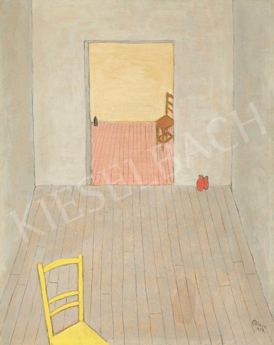 Eladó  Czimra Gyula - Szobák, 1959 festménye