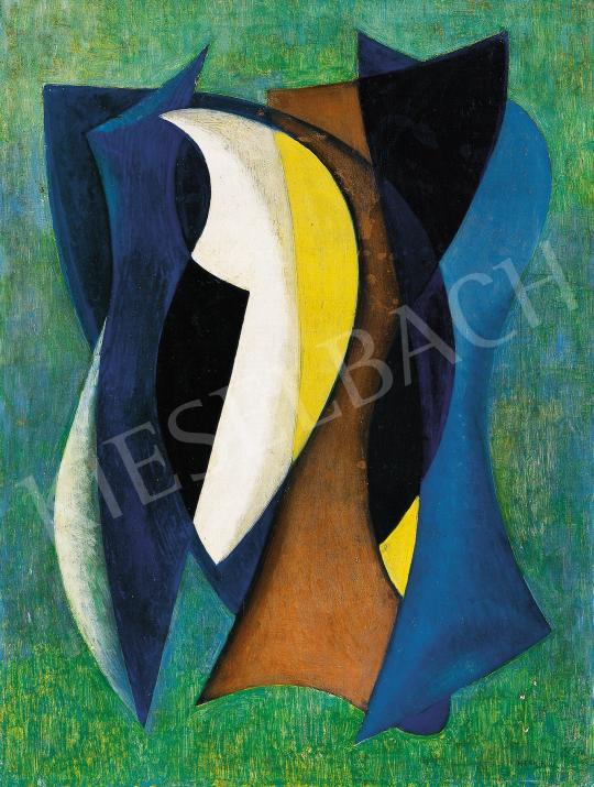 Eladó  Keserü Ilona - Elektromos halfék, 1959 festménye