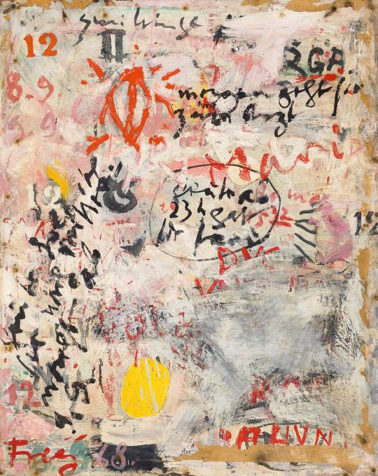 Eladó  Frey Krisztián - Mari, 1968 festménye