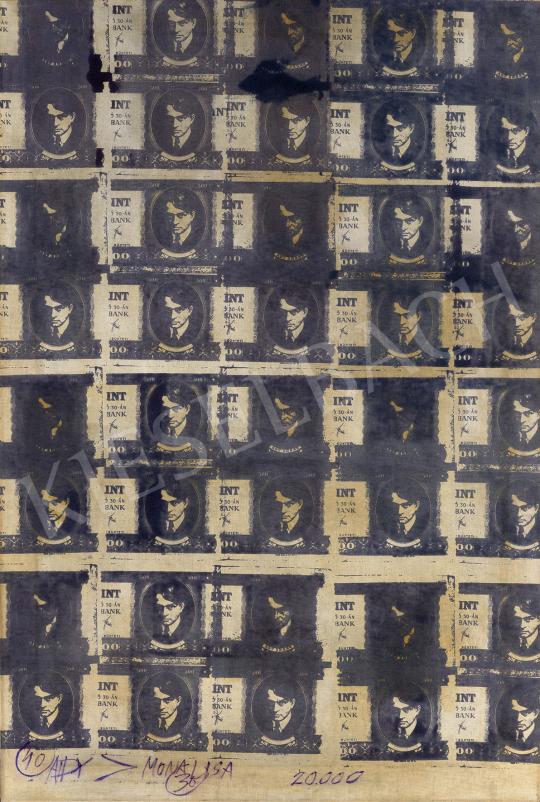 Eladó  Veszely Ferenc - ADY > MONA LISA - 20 ezer forint, 1972 festménye