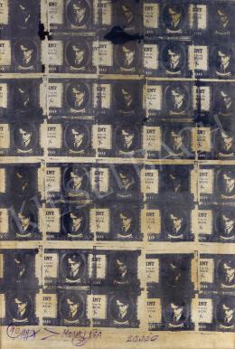 Veszely Ferenc - ADY > MONA LISA - 20 ezer forint, 1972
