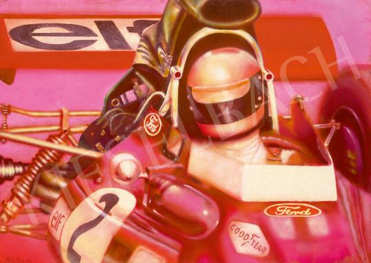 Eladó  Siskov Ludmil - Motor Man, 1970 festménye