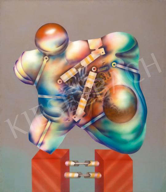 Eladó  Siskov Ludmil - Composition No.2, 1970 festménye