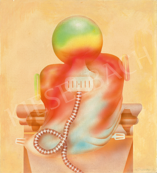 Eladó  Siskov Ludmil - Composition No.6, 1970 festménye