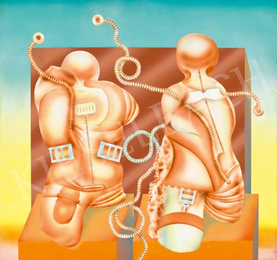 Eladó  Siskov Ludmil - Twins No.1, 1970 festménye