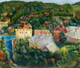 Bernáth(y) Sándor - Rózsadombi részlet (Endrődi Sándor utca környéke), 1973