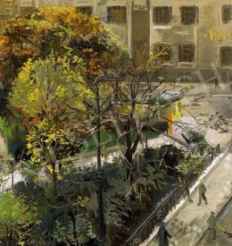 Duray, Tibor - Hunyadi Square, 1937
