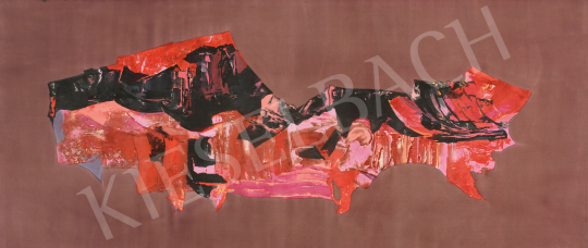 Eladó  Hübner Aranka - Vulkán, 1970-es évek első fele festménye