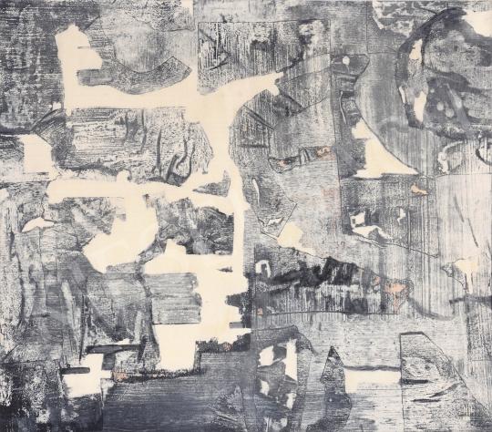 Eladó  Hübner Aranka - Álom darabok, 1973 festménye